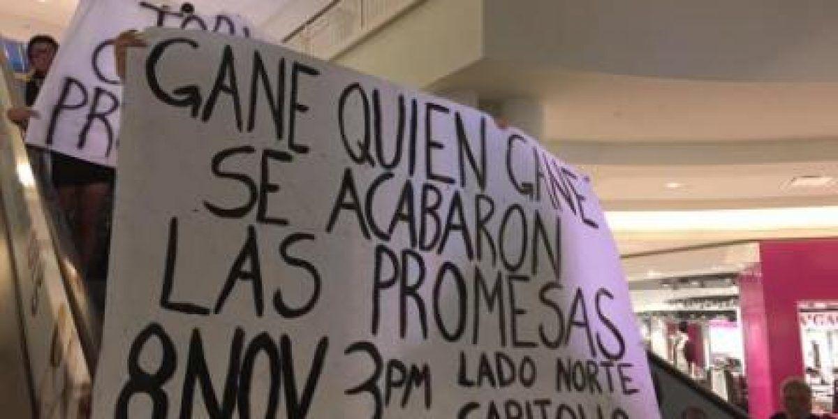 Convocan marcha contra PROMESA día de las elecciones