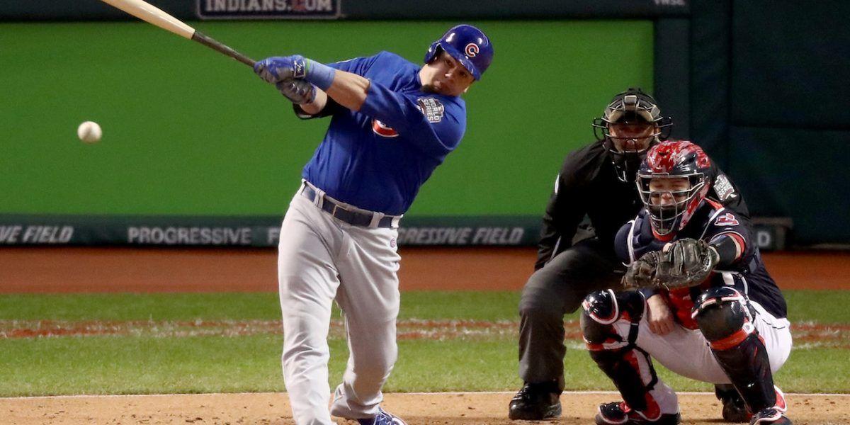 Schwarber batearía segundo en el cuadro de Chicago
