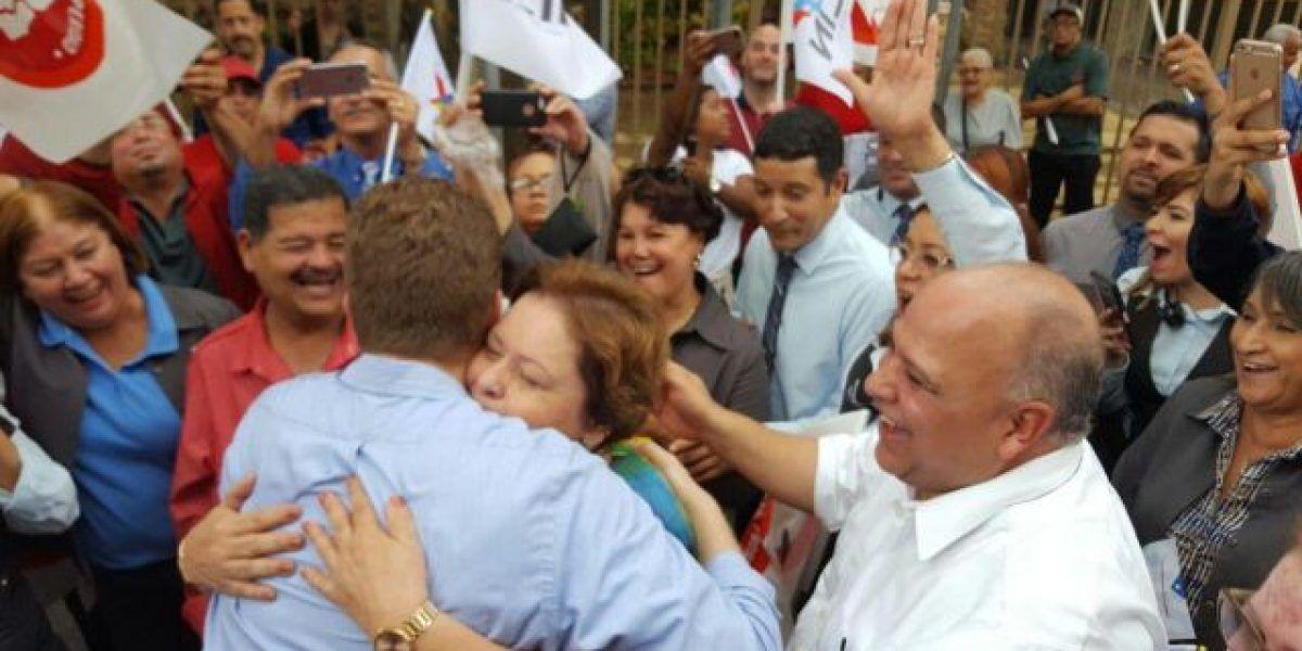 Aida Díaz destaca bondades de Bernier