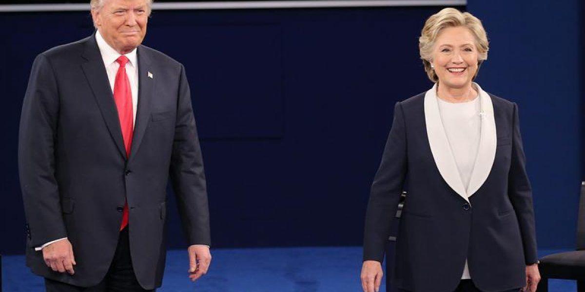Nueva encuesta: Solo tres puntos separan a Clinton de Trump