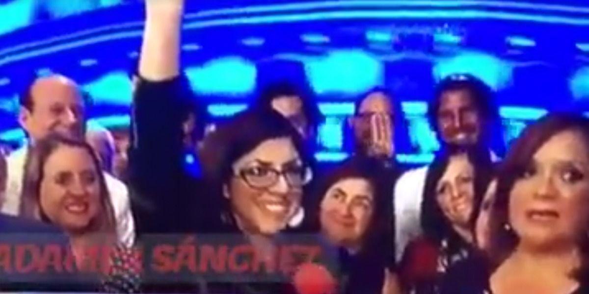Mariana Nogales realiza gesto de famosa saga en pleno debate