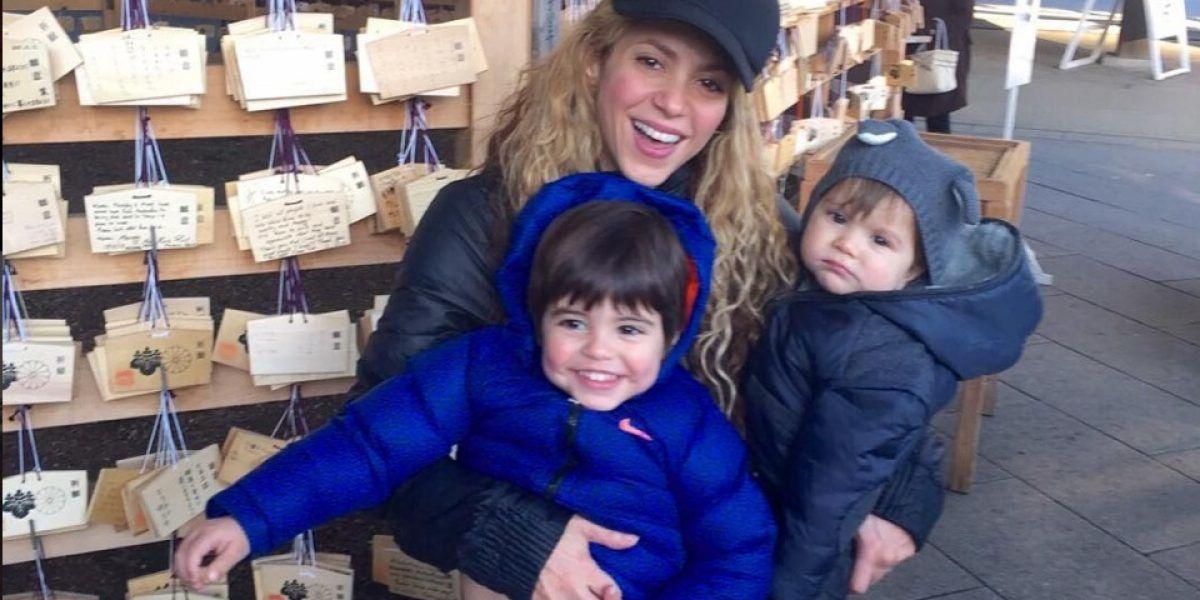 Internan hijo de Shakira en un hospital de Barcelona