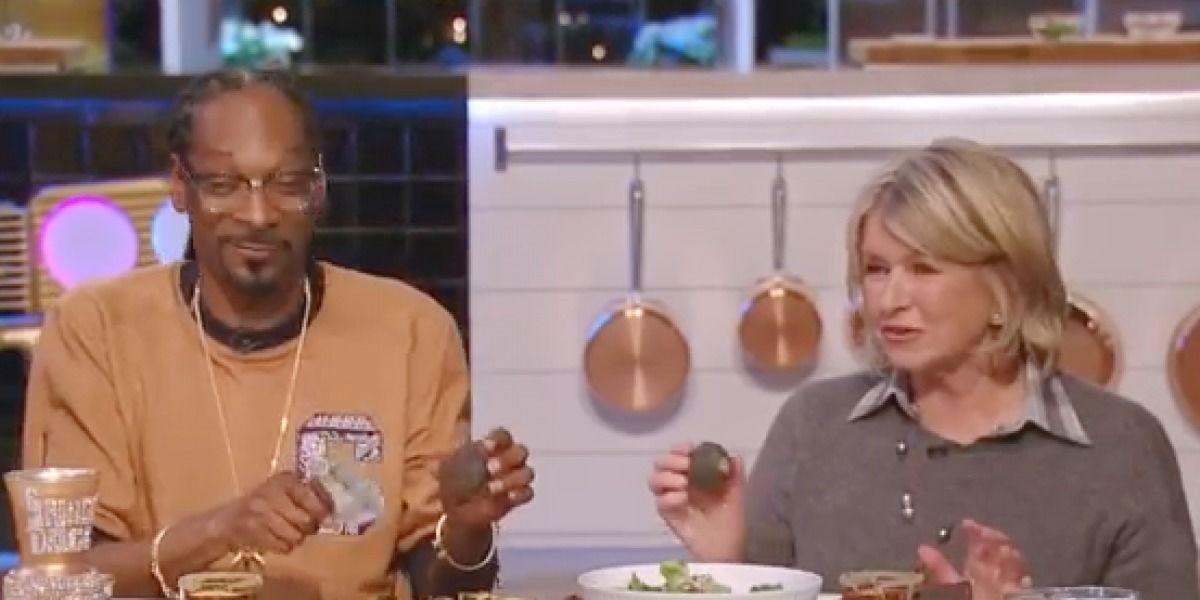 Martha Stewart y Snoop Dogg cocinan nueva temporada