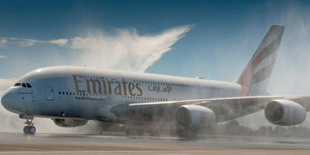 Aeropuerto de Aguadilla recibe primer avión de los Emiratos Árabes