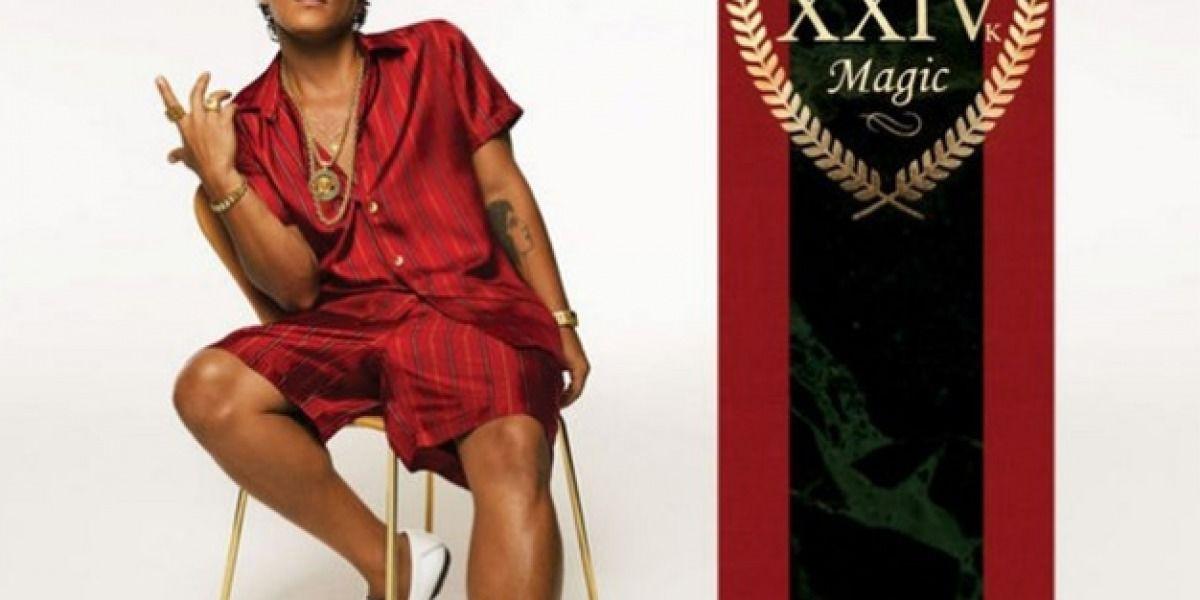 Bruno Mars lanza