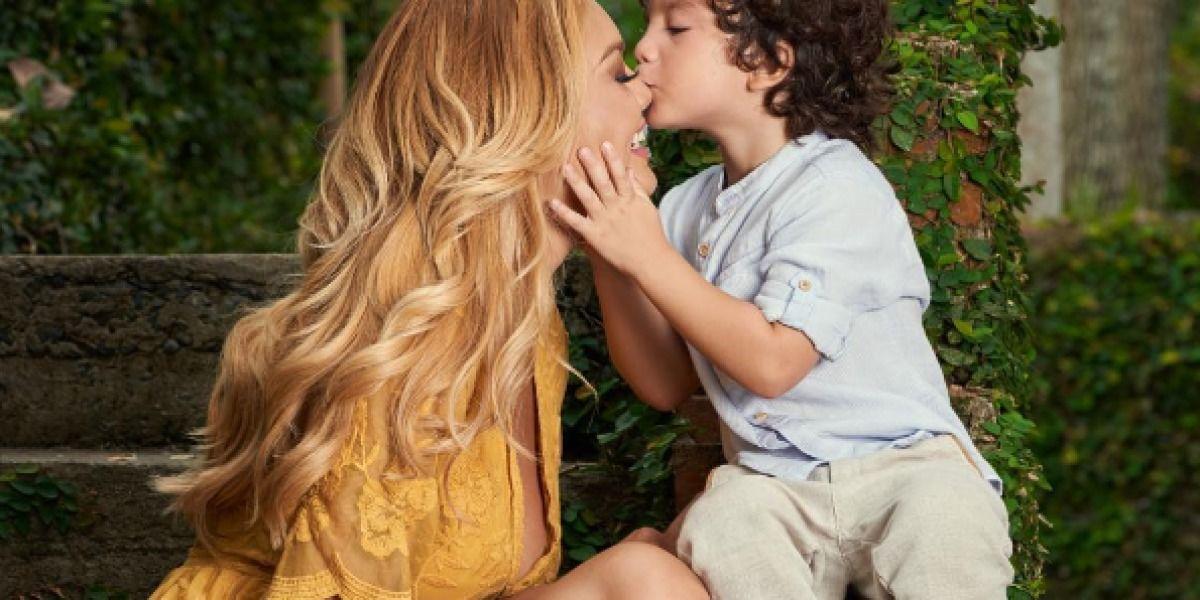 Las imágenes más tiernas de Zuleyka Rivera y Sebastián José