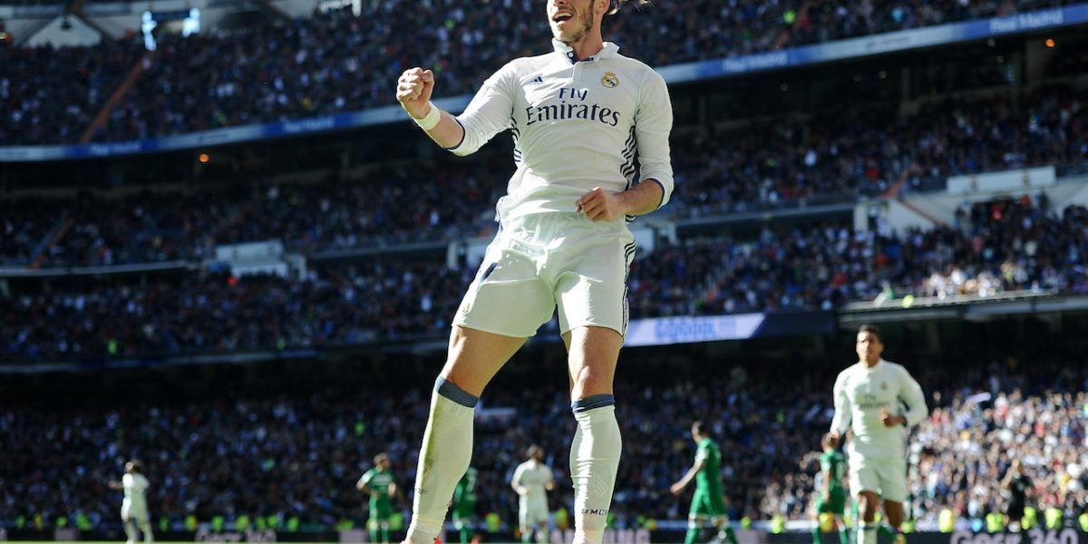 Doblete de Bale impulsa al Real Madrid