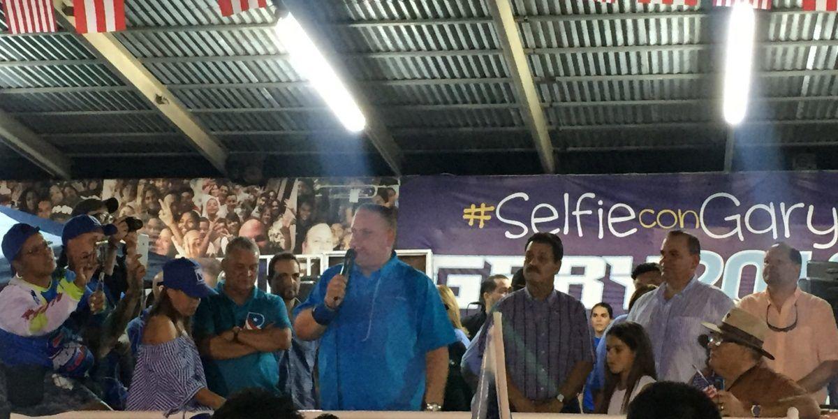 Representante Ángel Rodríguez cierra campaña en Toa Alta ante cientos de simpatizantes