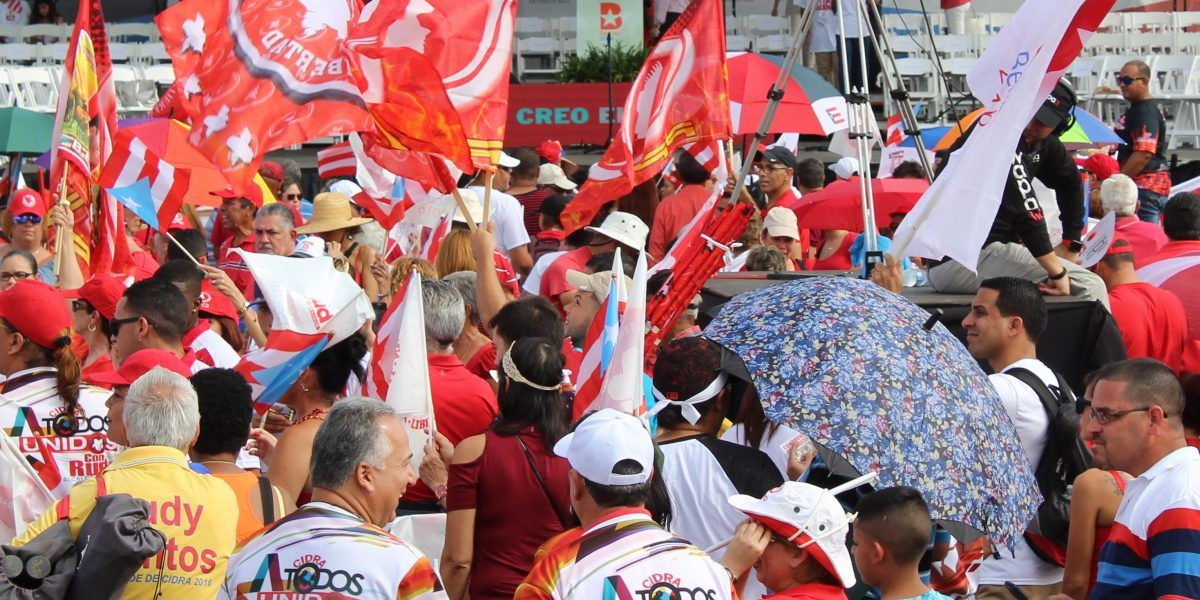Minuto a Minuto: Se enciende el cierre de campaña del PPD