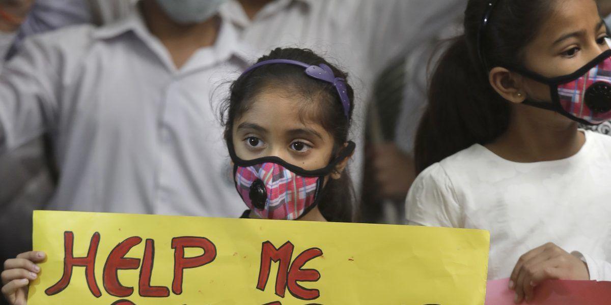 Cierran escuelas en India por contaminación