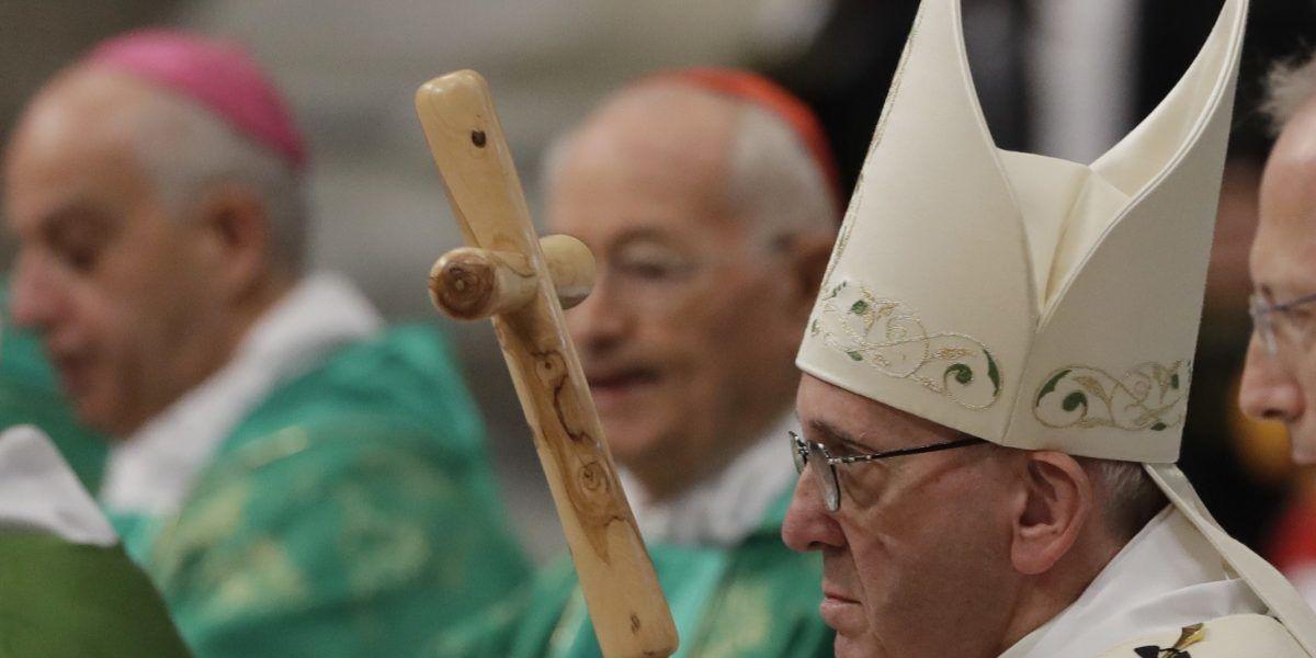 El papa Francisco oficia misa especial para presos