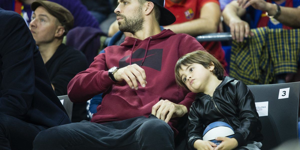 Reaparece hijo de Shakira después de ser hospitalizado