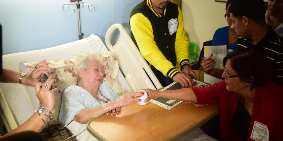 Hospitalizados ejercen su derecho al voto