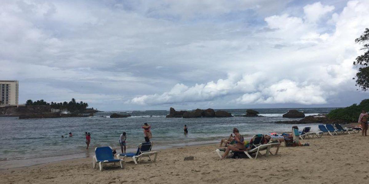 Poca actividad en las playas el día de las elecciones