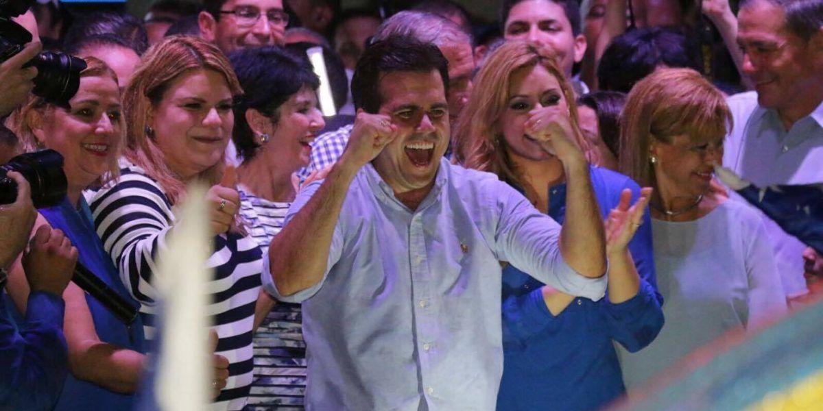 Ricardo Rosselló agradece a los que le dieron el voto