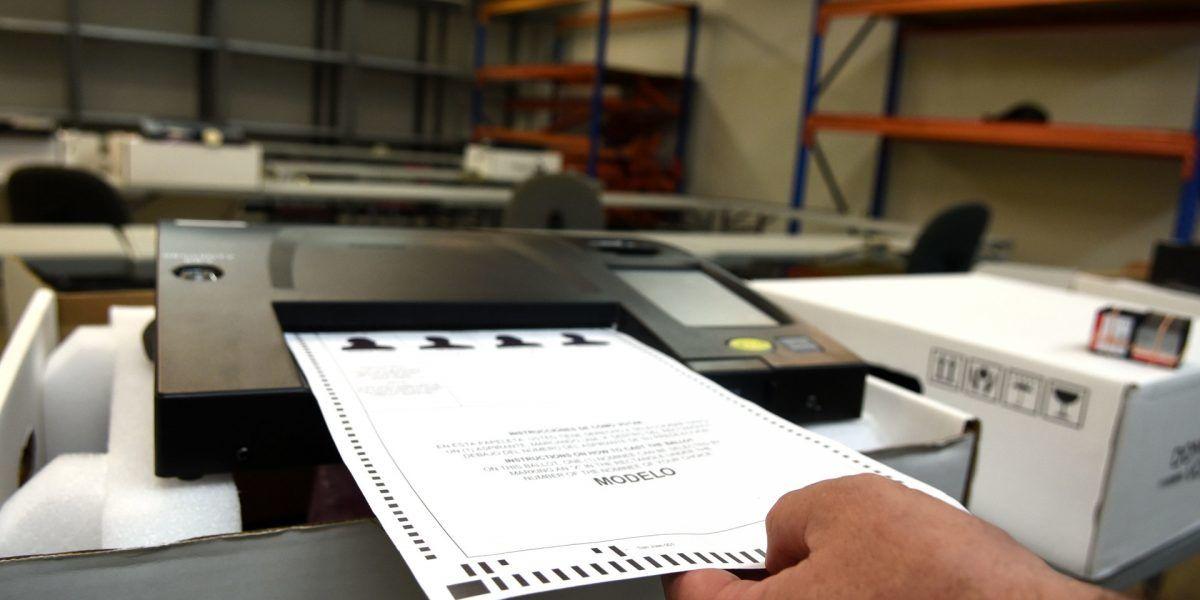 Miles de papeletas mal votadas en elecciones