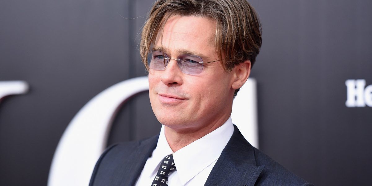 Brad Pitt reaparece más delgado tras su divorcio