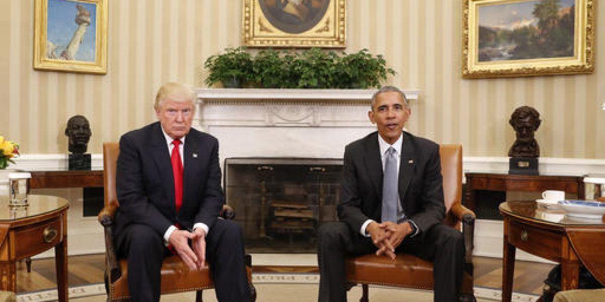 Trump acusa a Obama de estar detrás de las protestas contra él