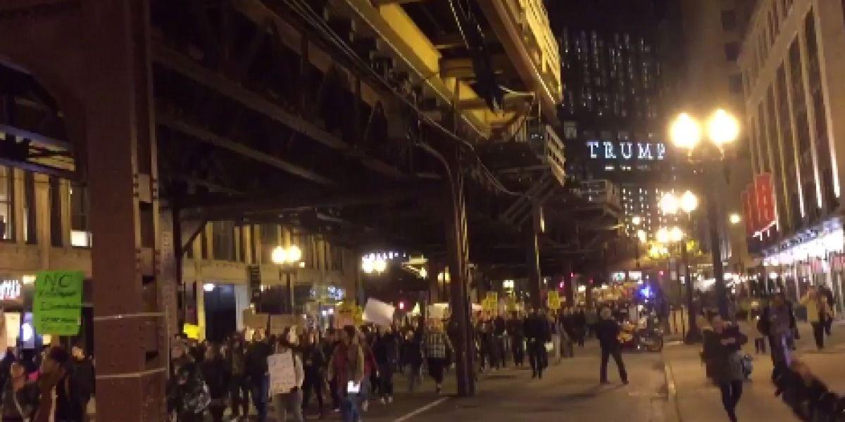 Reportan masivas protestas en varias ciudades de EE.UU. contra Trump
