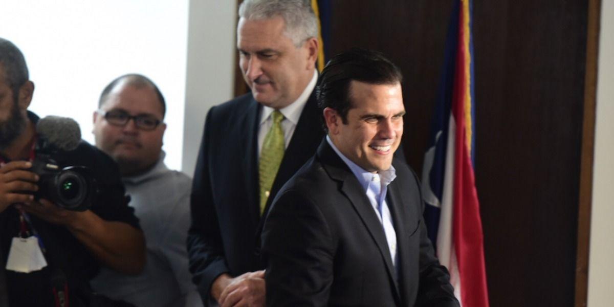 Servidores Públicos felicitan a Ricardo Rosselló tras victoria