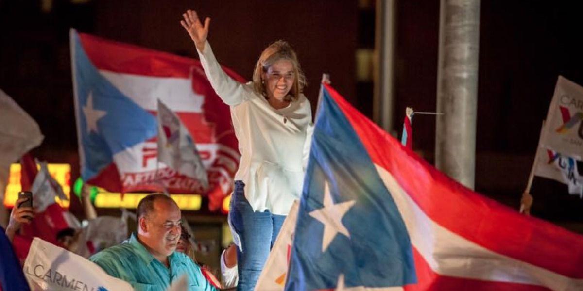 Carmen Yulín Cruz juramenta para su segundo término