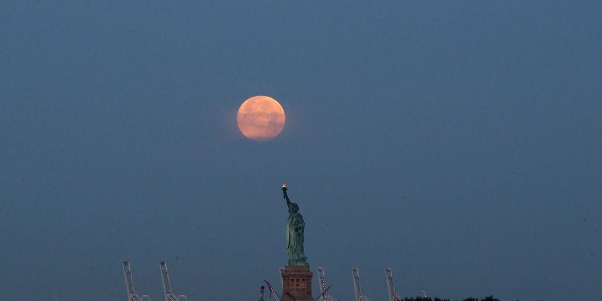 La luna no ha estado tan cerca de la Tierra en 69 años