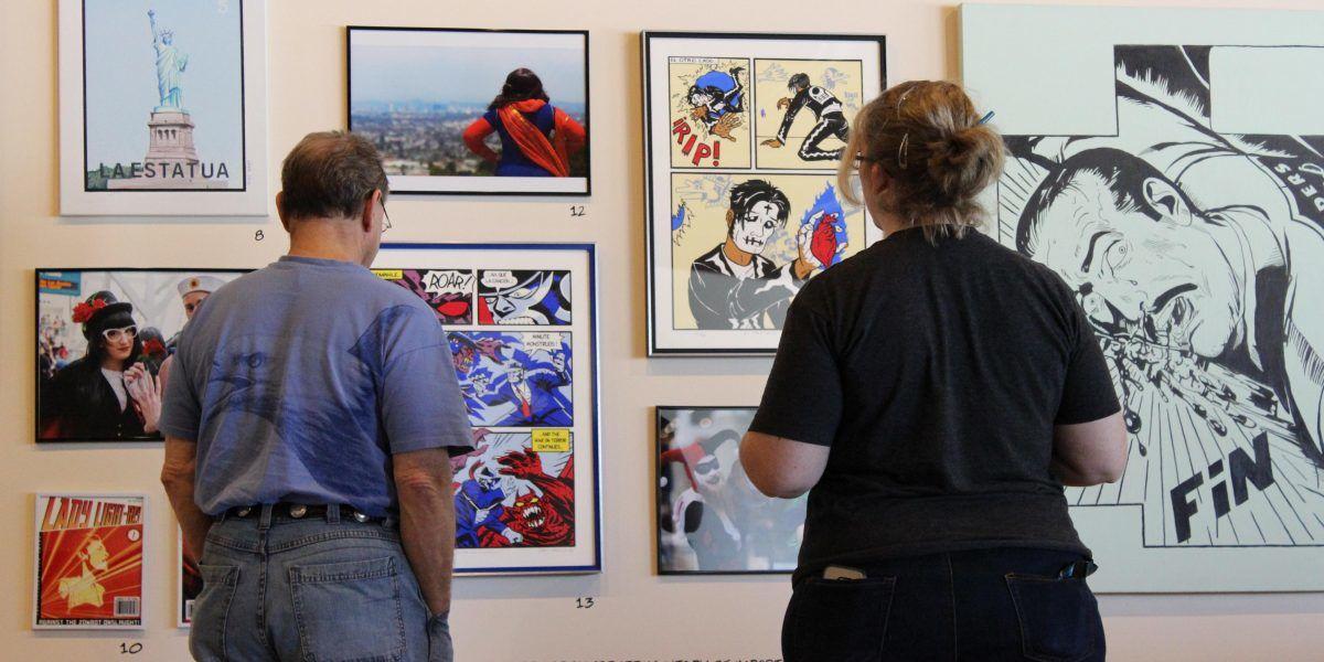 Exhiben trabajos de cómics de ilustradores puertorriqueños