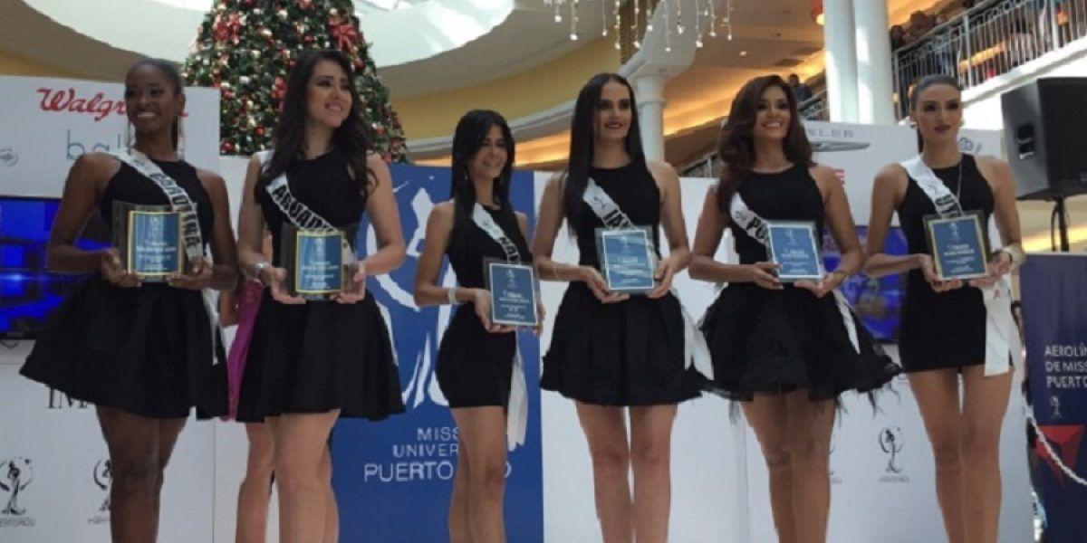 Candidatas a Miss Puerto Rico Universe 2017 se pasean por Ponce