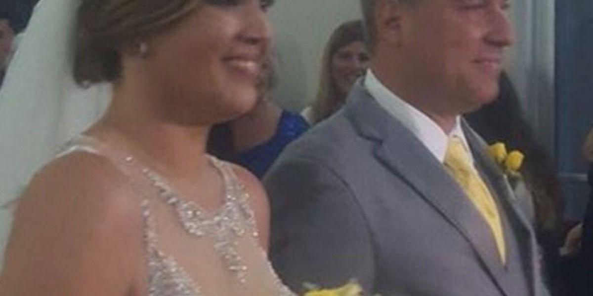 Se casó la periodista Marjorie Ramírez