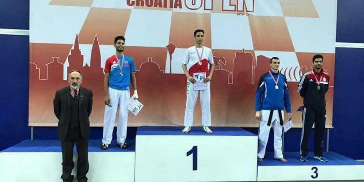 Colón se gana medalla de plata en Croacia