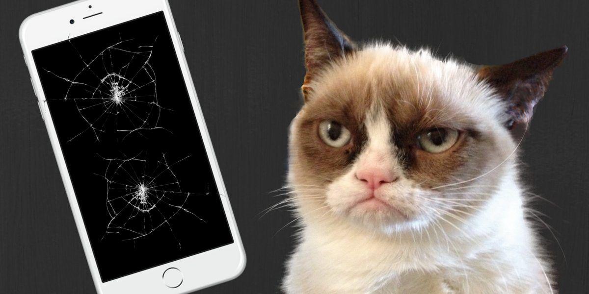¿Es peligroso seguir usando su celular con la pantalla rota?