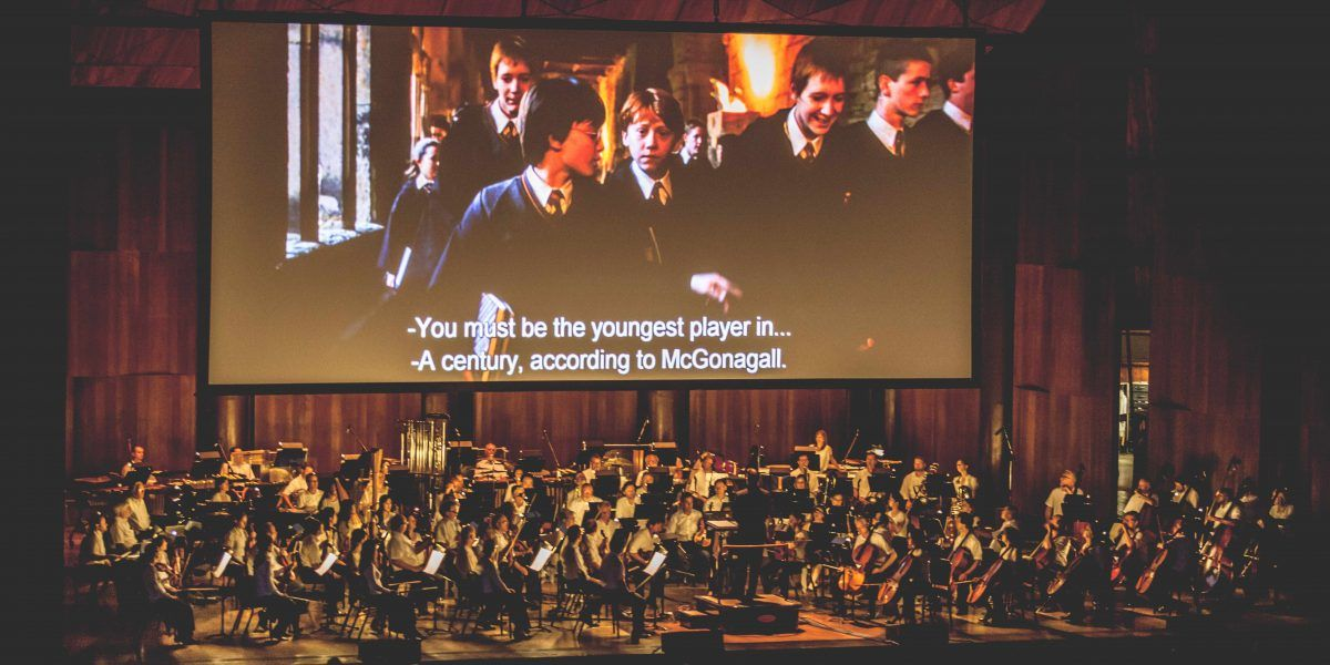 A disfrutar de Harry Potter junto a la Orquesta Filarmónica