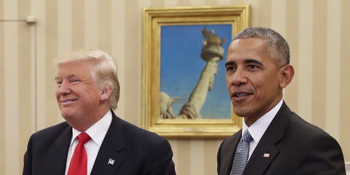 Trump ha consultado con Obama algunos de sus nombramientos