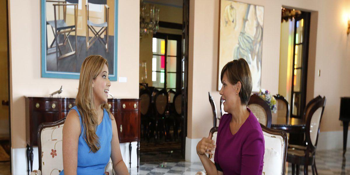 Beatriz Rosselló visita La Fortaleza