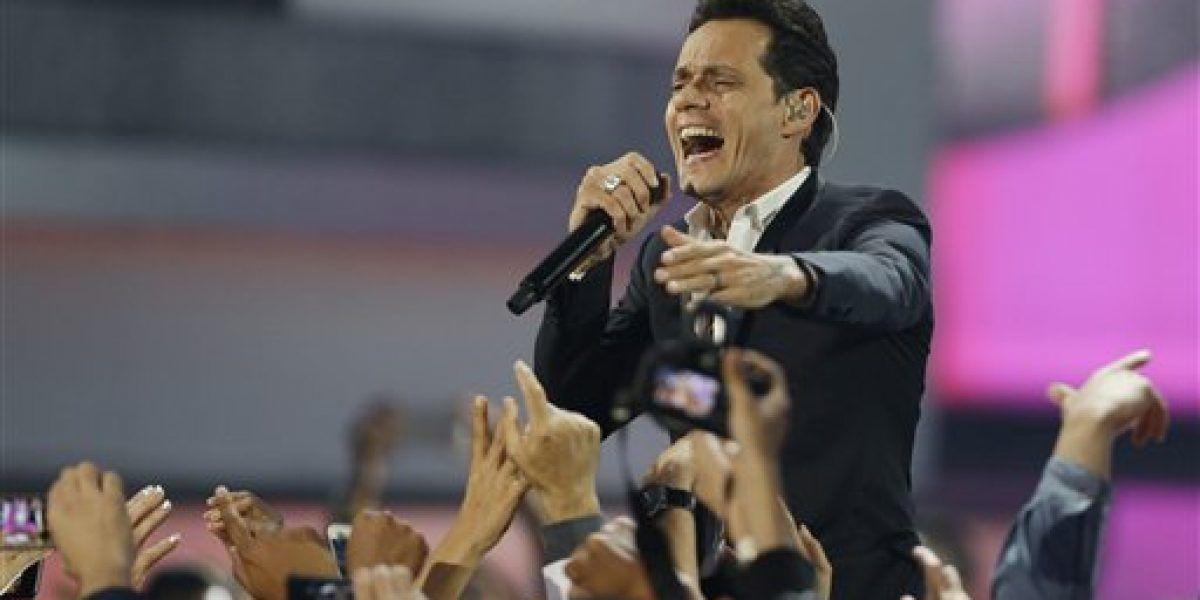 Marc Anthony emocionado con reconocimiento en los Latin Grammy
