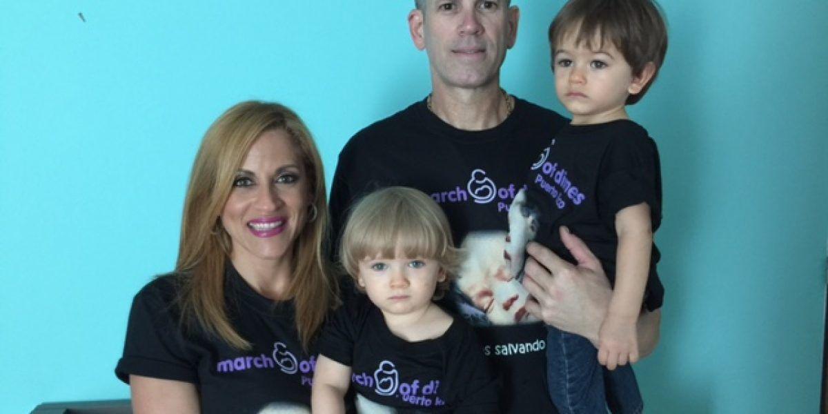 Gemelos de Aixa Vázquez se unen a campaña de bebés prematuros