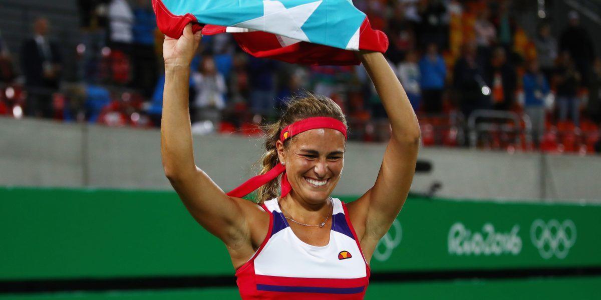 Mónica Puig envía mensaje al equipo de Puerto Rico
