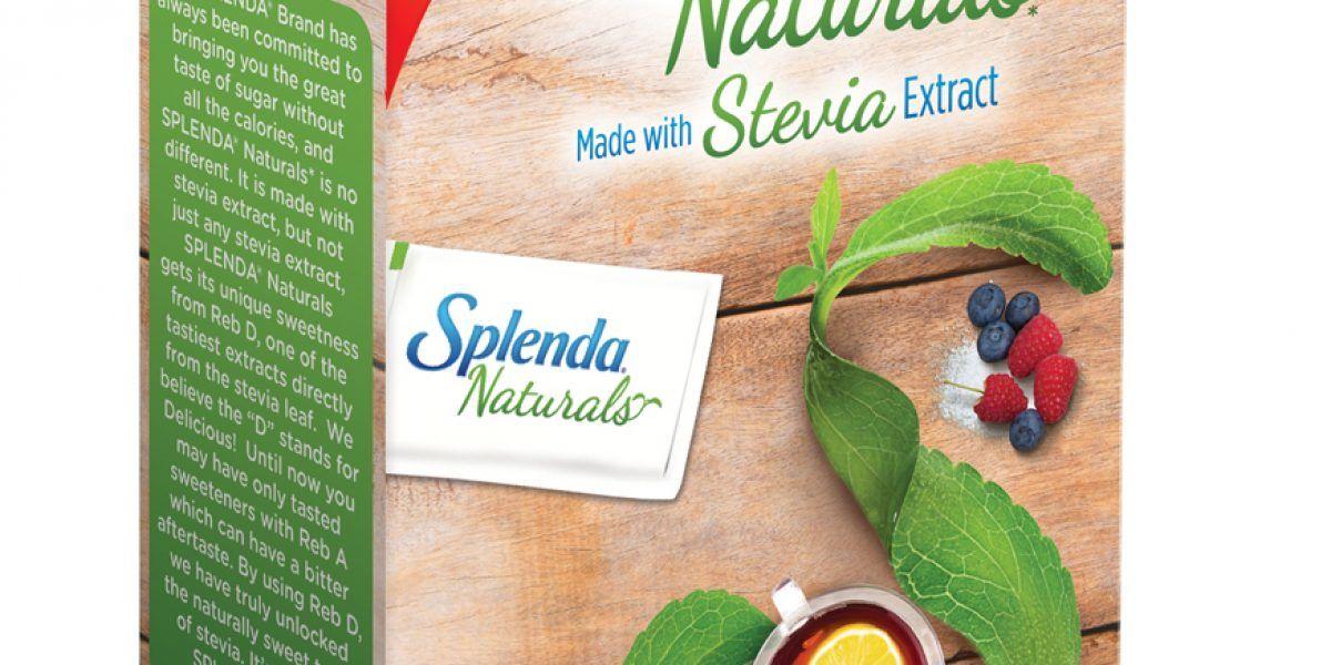Anuncian introducción de SPLENDA® Naturals Endulzante con Stevia