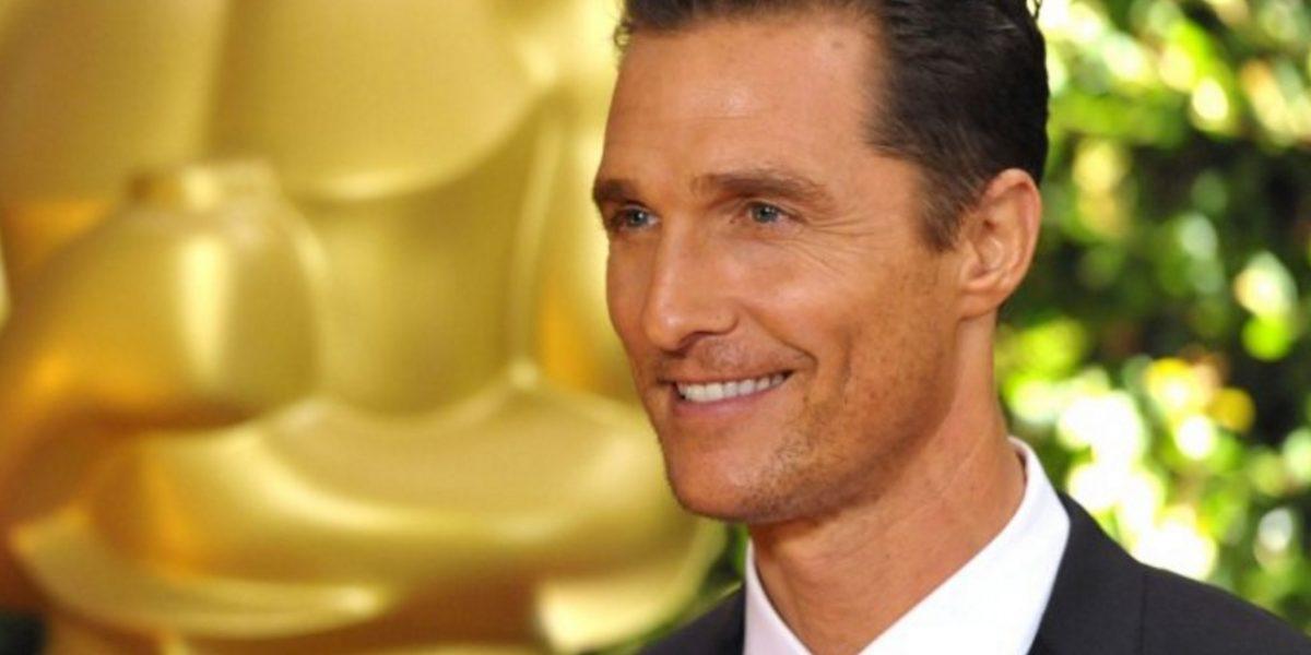 Matthew McConaughey subió más de 66 libras para su nueva película