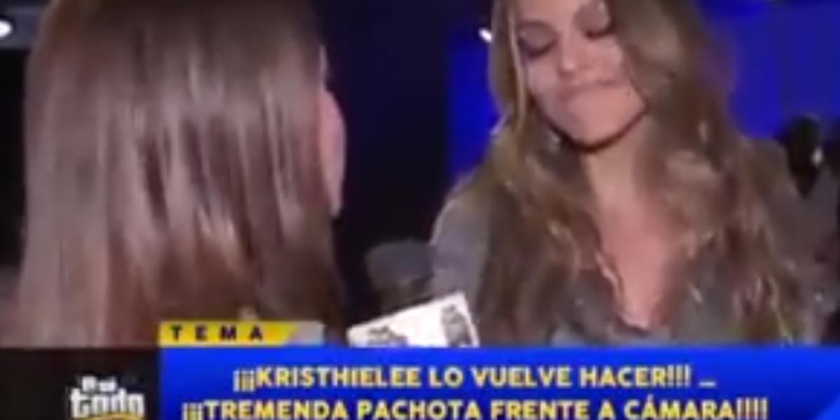 Kristhielee Caride vuelve a protagonizar una