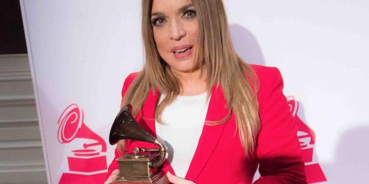 Ednita Nazario recibe homenaje en los Latin Grammys