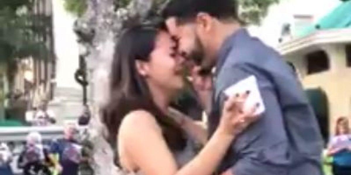 Se vuelve viral propuesta de matrimonio en el Viejo San Juan