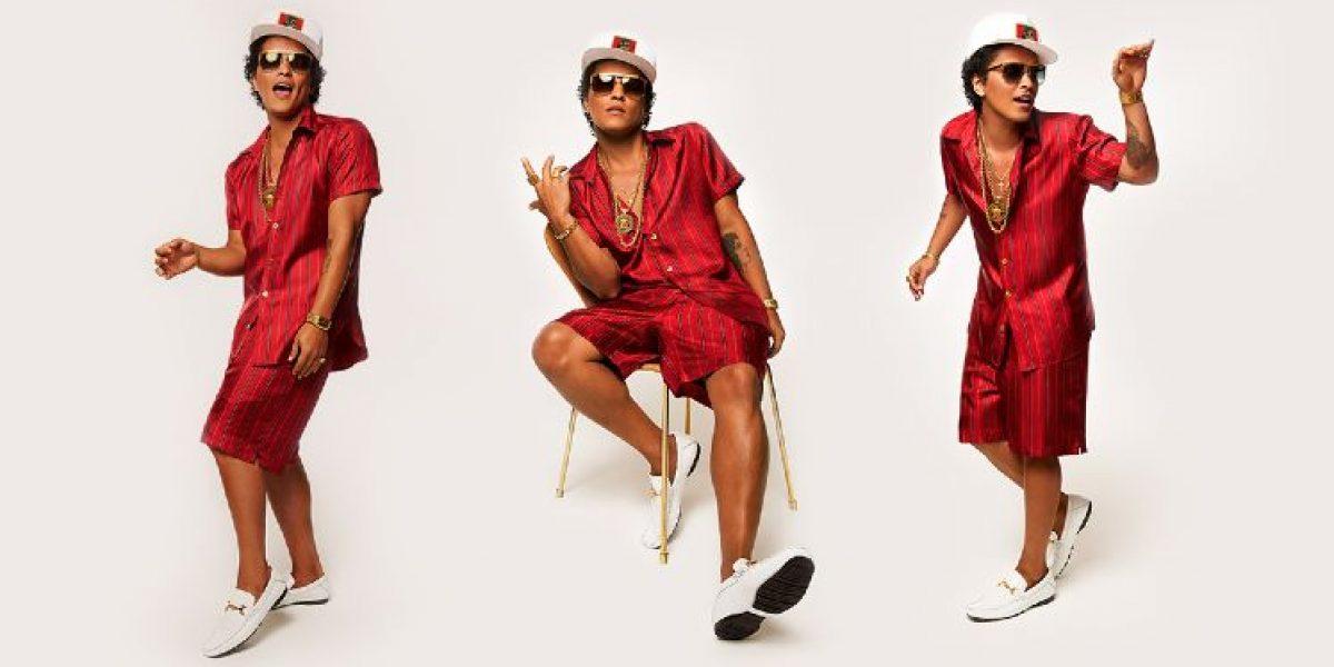 Bruno Mars lanza nuevo disco