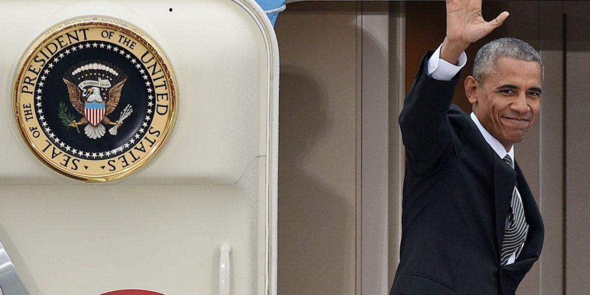 Obama enseña a Trump cómo ser líder mundial