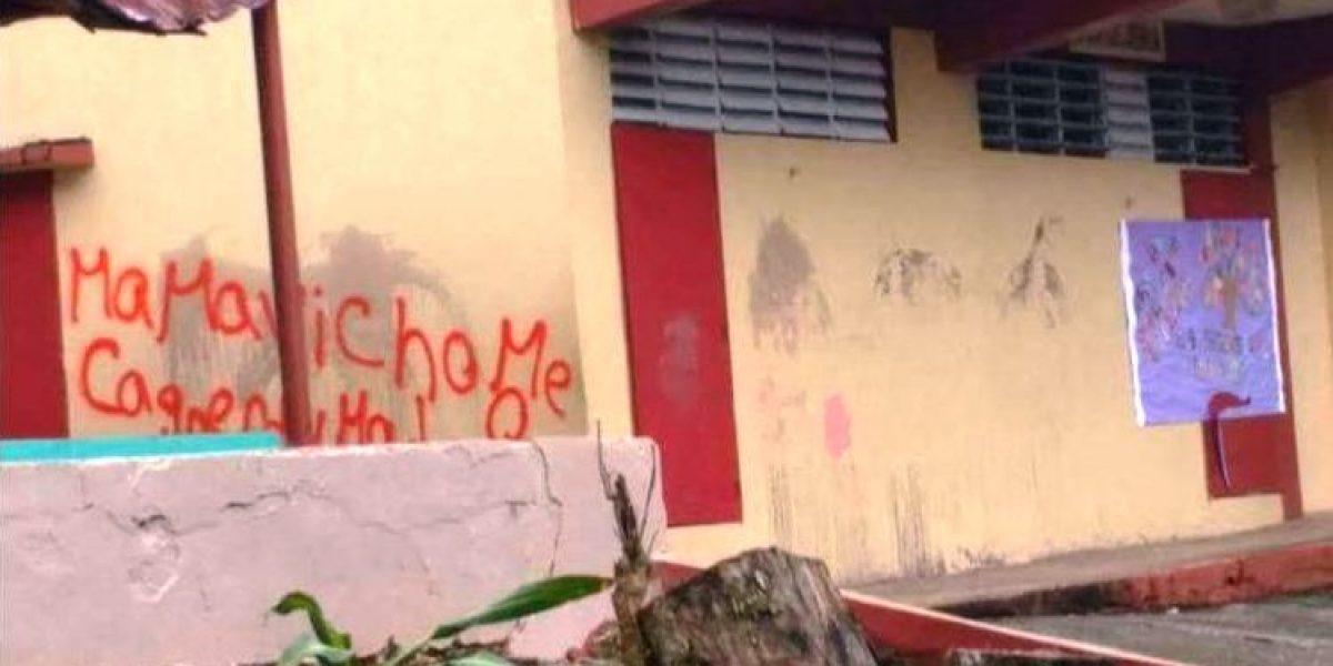 Federación de Maestros denuncia escuela sin agua ni luz tras actos de vandalismo