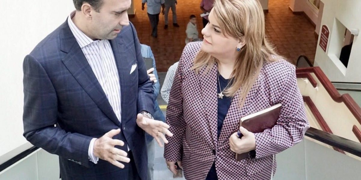 Jenniffer González se reúne con miembros de la Junta de Supervisión Fiscal