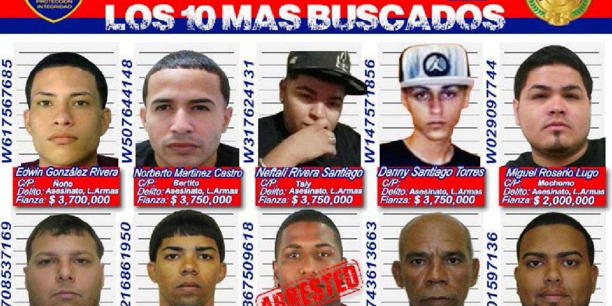 Policía solicita cooperación ciudadana para detener más buscados de Ponce
