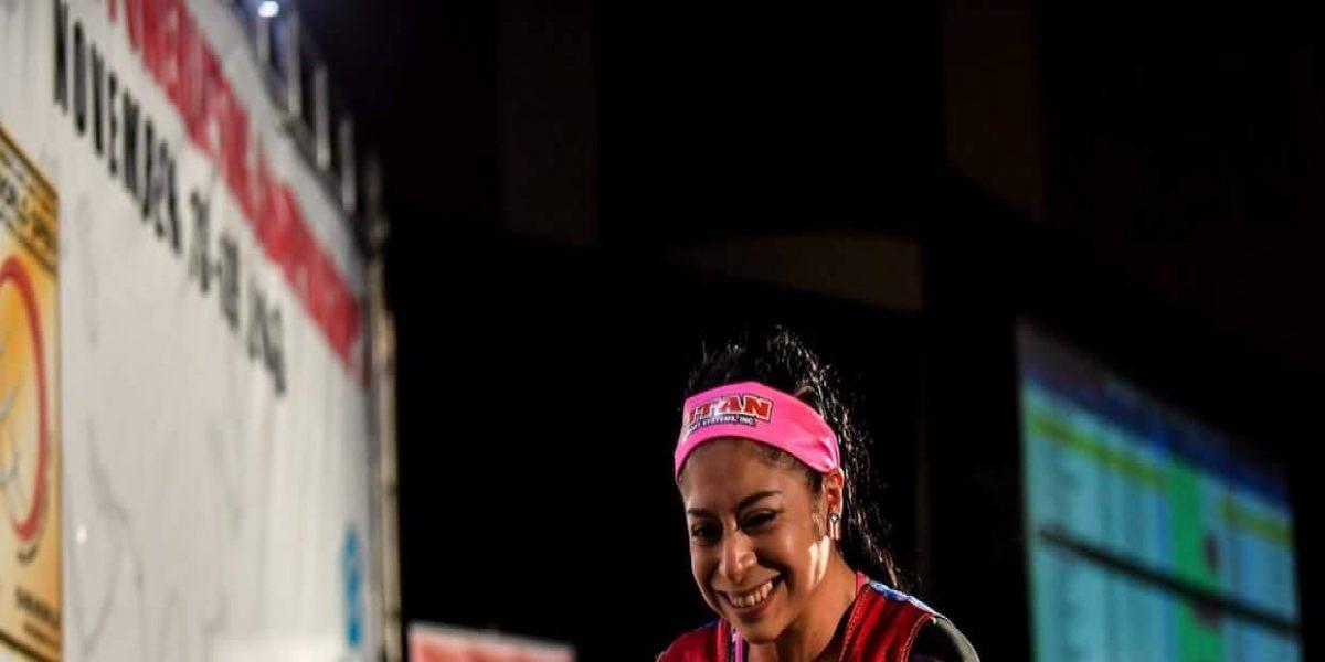 Brilla María Luisa Vázquez como tercera mejor atleta en mundial de Powerlifting