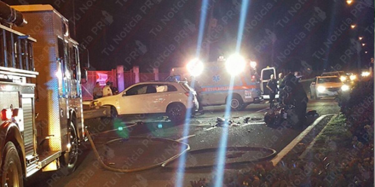 Cerrada carretera 187 frente a Isla Verde por accidente fatal