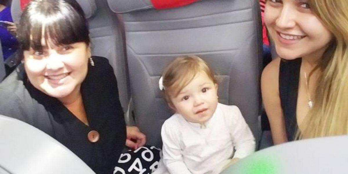 Foto: Gredmarie presenta a sus fanáticos la tía paterna de su hija Kamilia